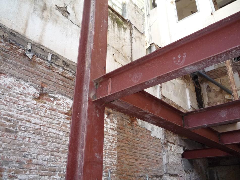 Rehabilitación de edificio en Eixample